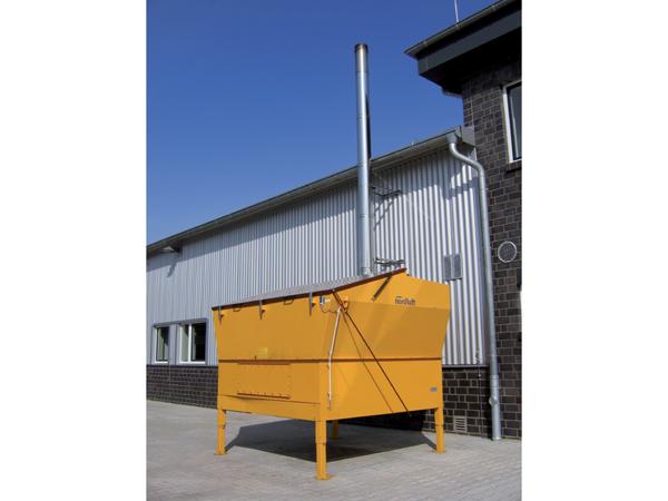 Top Nordluft - Biomasse-Warmlufterzeuger NL-BM (Hackschnitzel, Pellets #BZ_09